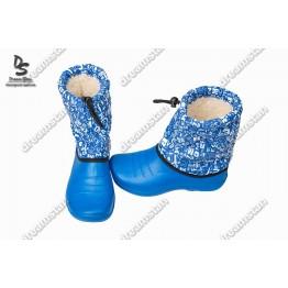Дутики детские БД02 голубые - фото 2