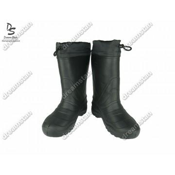 Мужские зимние резиновые сапоги EVA2 черные