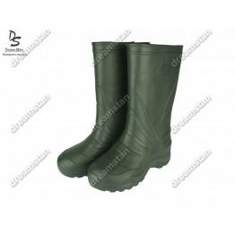 Мужские сапоги пенка EVA2 зеленые - фото 2