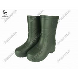 Мужские сапоги пенка EVA3 зеленые - фото 2