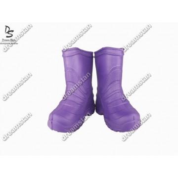 Детские сапоги пенка EVA04 фиолетовые