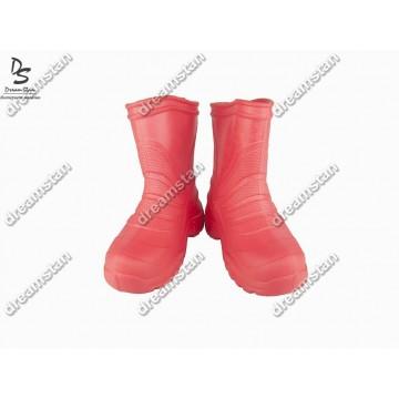 Детские сапоги пенка EVA04 красные