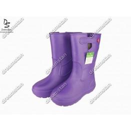 Женские сапоги пенка EVA07 фиолетовые