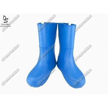 Женские сапоги пенка EVA07 синие