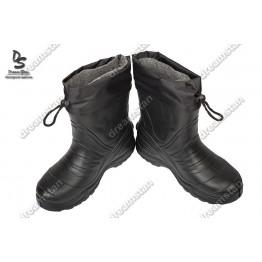 Мужские зимние галоши дримстан ГП15 черные - фото 2