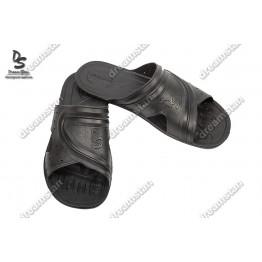 Мужские шлепанцы черные П23