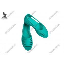 Женские туфли лодочка бирюзовые Пж22 - фото 2