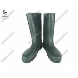 Мужские резиновые сапоги СМ01 зелёные