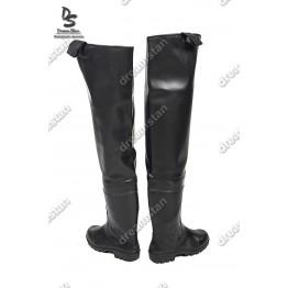 Рыбацкие сапоги заброды черные СР01 - фото 2