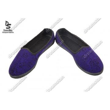 Домашние тапочки ТЖ-02 фиолетовые