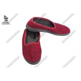 Домашние тапочки ТЖ-02 красные