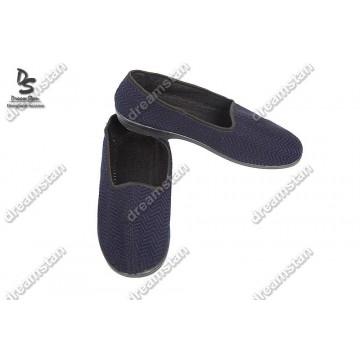 Мужские тапочки синие Тк-01