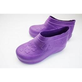 Женские галоши ГП06 фиолетовые