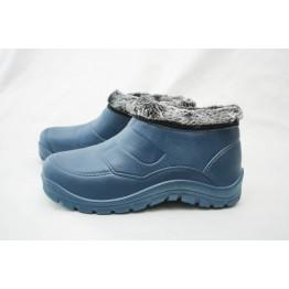 Мужские зимние галоши dreamstan ГП12 темно-синие - фото 2