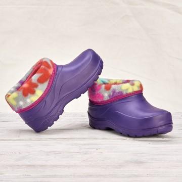Детские галоши 044-F фиолет