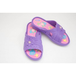 Подростковые шлепанцы ППЖ-04 фиолет-малиновые - фото 2