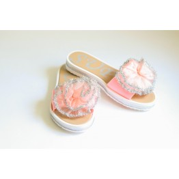 Женские шлепанцы 908-1 розовые - фото 2