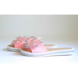 Женские шлепанцы 908-1 розовые
