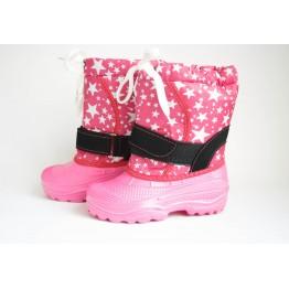 Дутики детские Гармас шнурок розовые