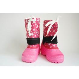 Дутики детские Гармас шнурок розовые - фото 2