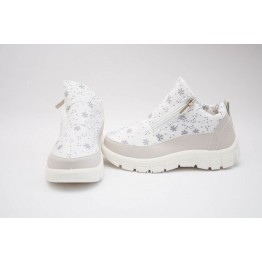 Женские ботинки 310 белые снежинка - фото 2