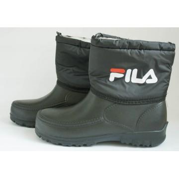 Женские ботинки шнурок фила черн