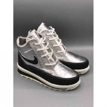 Женские ботинки G-117 серебро