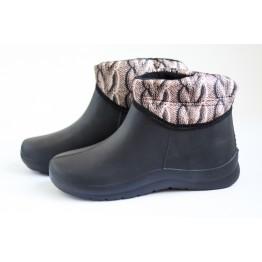 Женские ботинки ГП-30 мех косичка