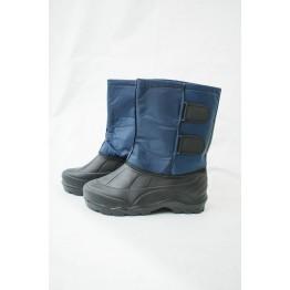 Мужские дутики БМ-1001 т.синие