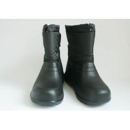 Мужские ботинки шнурок фила черные - фото 2