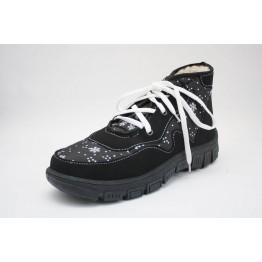 Женские ботинки 112 черн снеж ПЧ - фото 2