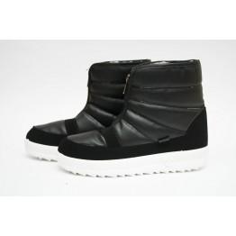 Женские ботинки 1811 черный ПБ - фото 2