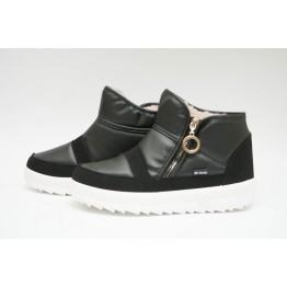 Женские ботинки 1855 черный ПБ