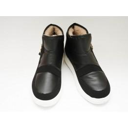 Женские ботинки 1855 черный ПБ - фото 2