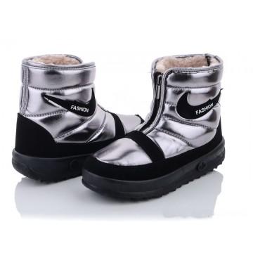 Женские ботинки 1899 серебро