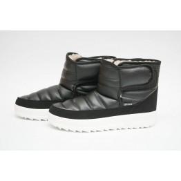 Женские ботинки 1912 черный ПБ