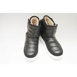 Женские ботинки 1912 черный ПБ - фото 2