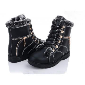 Женские ботинки 501 черный