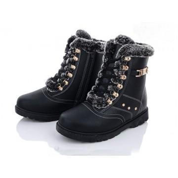 Женские ботинки 507 черный