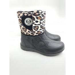 Женские ботинки вм-26 Леопард - фото 2