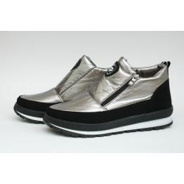 Женские ботинки Едита 5 серебро