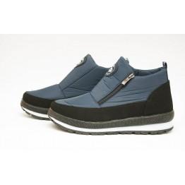 Женские ботинки Едита 5 темно-синие