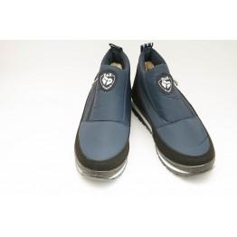 Женские ботинки Едита 5 темно-синие - фото 2