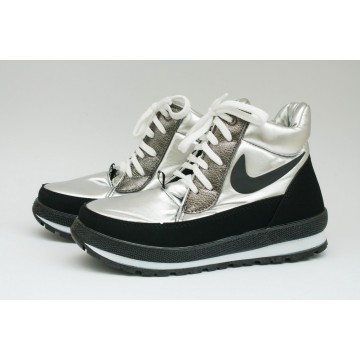 Женские ботинки Едита 6 серебро