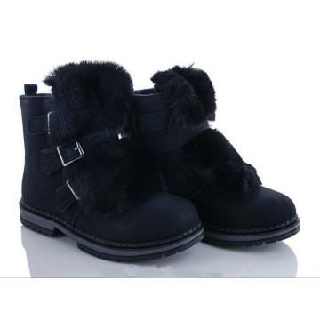 Женские ботинки R-18 черный