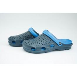Мужские шлепанцы С-66 т.сине-синие