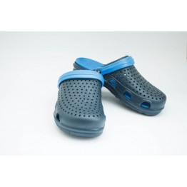 Мужские шлепанцы С-66 т.сине-синие - фото 2