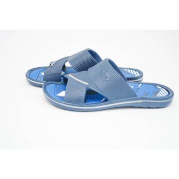 Мужские шлепанцы М-02 синие