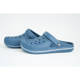 Мужские шлепанцы 755 темно-синие