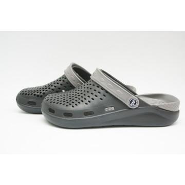 Подростковые Сабо crocs-03 черн-серый